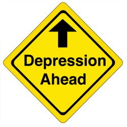Depression Ahead Graphic by Jonathan Steele