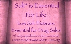 Salt Essential for Life